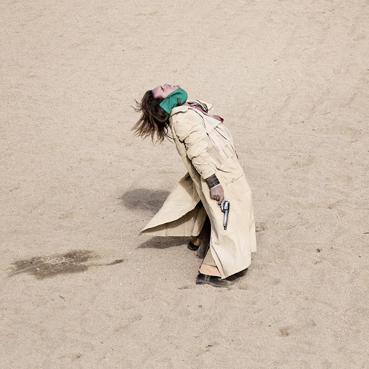 Dreaming Leone, Tabernas Desert, Almeria, Spain, November 2011.