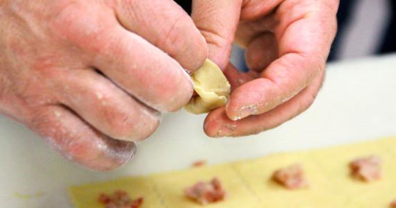 Creazione dei tortellini